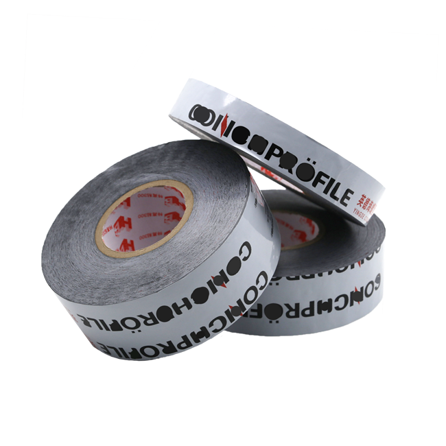 Hualibao Aluminum Profile Protection Film Black And White Transparent Printed Adhesive Protective Tape